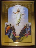 Икона Храмовая полуростовую Вознесение Господне