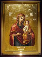 Икона Храмовая полуростовую Домницкая Пр
