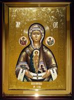 Икона Храмовая полуростовую Албазинская Пр