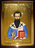 Икона Храмовая полуростовую Василий