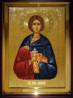 Икона Храмовая полуростовую Валерий