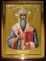 Икона Храмовая полуростовую Алексий Московский