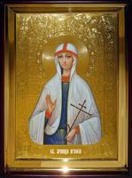 Икона Храмовая полуростовую Агафья