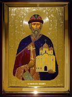 Икона Храмовая полуростовую Владимир