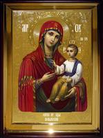 Икона Храмовая полуростовую Волынская Пр  Бца