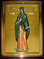 Икона Храмовая полуростовую Анна Пророчица