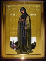 Икона Храмовая полуростовую Анна Кашинская