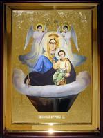 Икона Храмовая полуростовую Живоносный источник П Б