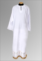 Подризник белый габардин