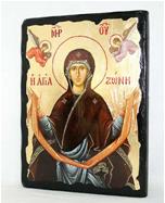 Икона Пояс Пресвятой Богородицы под старину