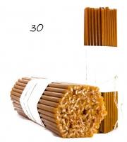 Свечи из натурального пчелиного воска №30