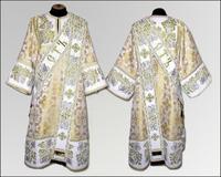 Дияконская риза вышивка белая узор