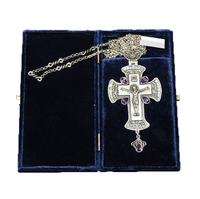 Крест наперсный серебренный МР-КРСВ-09-А