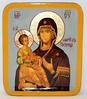 Икона Божья Матерь Троеручица