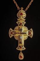 Крест наперсный 011