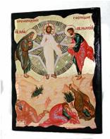Икона Преображение Господне под старину