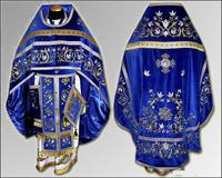 Вышивка облачение Иерейское льен парча габардин