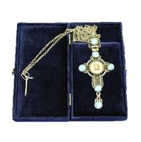 Крест наперсный серебренный МР-КРСВ-07 Г
