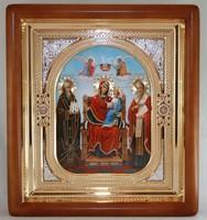 Икона Божьей Матери Экономисса (26*23 см)