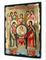 Икона Собор Архистратига Михаила под старину