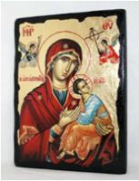 Икона Пресвятая Богородица под старину 004