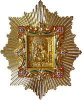 Икона Почаевской Божией Матери 84х70 см