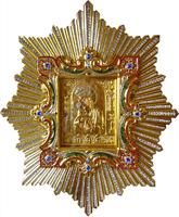 Икона Почаевской Божией Матери 002 50х60 см