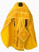 Облачение иерейское желтое 002