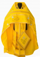 Облачение иерейское желтое 001