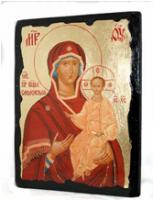 Икона Смоленская Пресвятая Богородица под старину