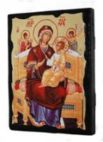 Икона Всецарица Пресвятая Богородица под старину