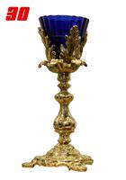 Напрестольная лампада латунная чаша