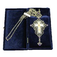 Крест наперсный серебренный МР-КРСВ-05 А