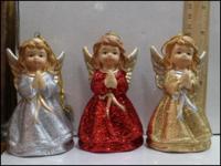 Керамическая статуэтка Ангелочек в платье