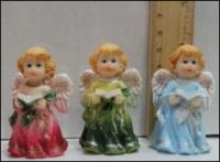 Керамическая статуэтка Маленький ангелочек с книжкой