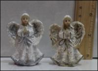 Керамическая статуэтка Ангел в молитве — криля блеск