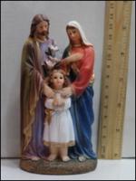 Керамическая статуэтка Рождественский сюжет