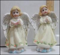 Керамическая статуэтка Девочка Ангел в молитве
