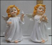 Керамическая статуэтка Ангел с голубем