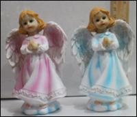 Керамическая статуэтка Ангел подросток в молитве