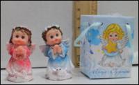 Керамическая статуэтка Дети Ангелы в молитве