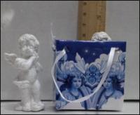 Керамическая статуэтка Белый Ангел