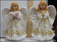 Керамическая статуэтка Ангел с книгой