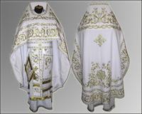 Облачение русский крой Иерейское вышивка парча габардин