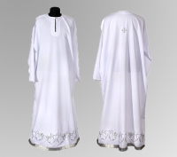 Белый подризник вышивка