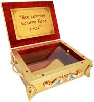 Ковчег для частиц святых мощей на 1-5 мощевиков