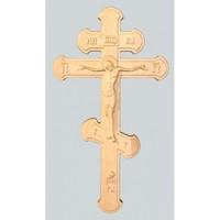Крест 3 с объемной резьбой (берёза)
