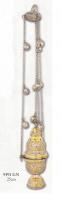 Кадило комбинированное (никель, латунь) 9391GN