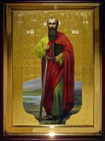 Икона Храмовая полуростовая Павел