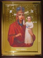 Икона Храмовая полуростовая Призри на смирение П Б